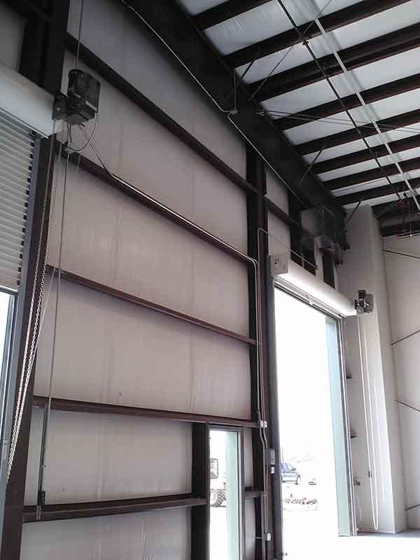Custom Engineered Hangar Door & Franks Casing | Alamo Hangar Doors
