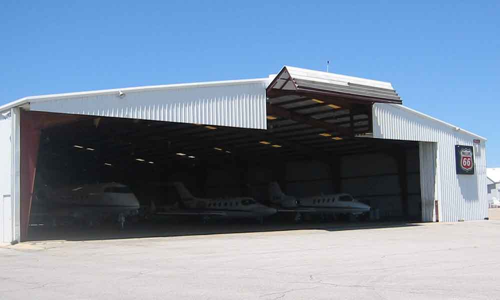 Tail Hangar Door